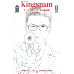 Kingsman: The Red Diamond Issue 1b variant