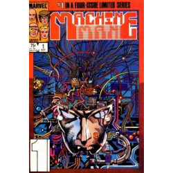Machine Man Vol. 2 Issue 1