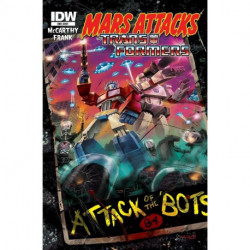 Mars Attacks: Transformers One-Shot Issue 1