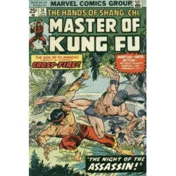 Master of Kung Fu  Issue 024