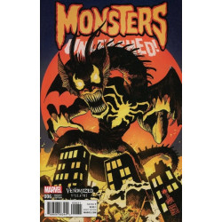 Monsters Unleashed  Issue 6c Variant