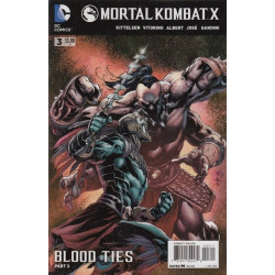 Mortal Kombat X Issue 3