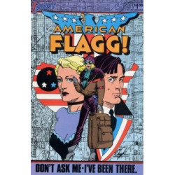 American Flagg!  Issue 13