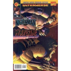 Night Man vs. Wolverine One-Shot Issue 0b