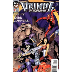 Primal Force  Issue 1