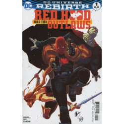 Red Hood and The Outlaws Vol. 2  Issue 1b