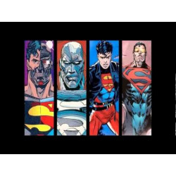 Reign of the Supermen Collection 4 Issue Starter Set Plus Bonus