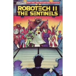 Robotech II: The Sentinels Vol. 2  Issue 2