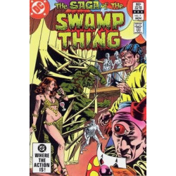 Saga of the Swamp Thing  Issue 07