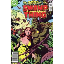 Saga of the Swamp Thing  Issue 08