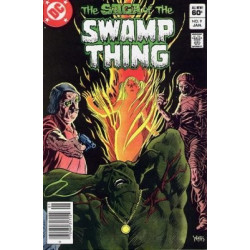 Saga of the Swamp Thing  Issue 09