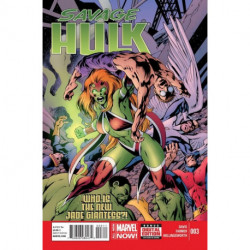 Savage Hulk  Issue 3
