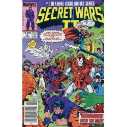 Secret Wars II  Issue 5b
