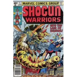 Shogun Warriors  Issue 05