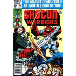Shogun Warriors  Issue 20