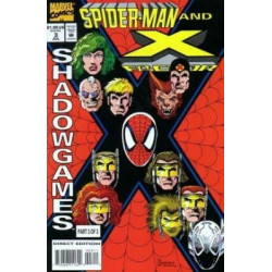 Spider-Man and X-Factor: Shadowgames Mini Issue 3