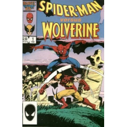 Spider-Man vs. Wolverine One-Shot Issue 1