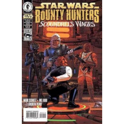 Star Wars Bounty Hunters: Scoundrel's Wages  Issue 1
