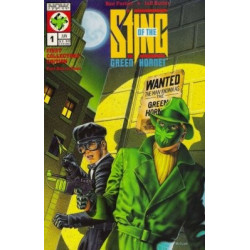 Sting of the Green Hornet Mini Issue 1