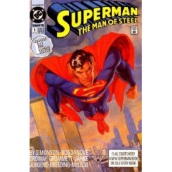 Superman: The Man of Steel  Issue 001