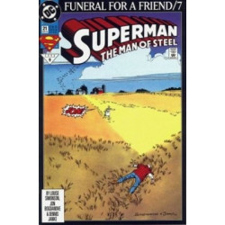 Superman: The Man of Steel  Issue 021