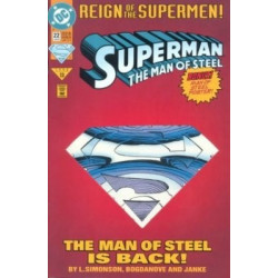 Superman: The Man of Steel  Issue 022