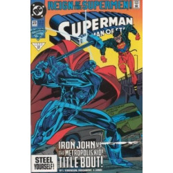 Superman: The Man of Steel  Issue 023