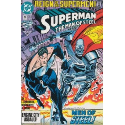 Superman: The Man of Steel  Issue 026