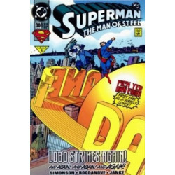 Superman: The Man of Steel  Issue 030
