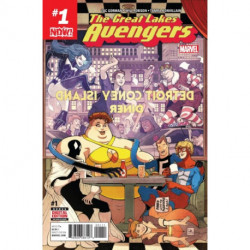 The Great Lakes Avengers Issue 1
