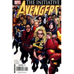 Avengers: Initiative  Issue 01