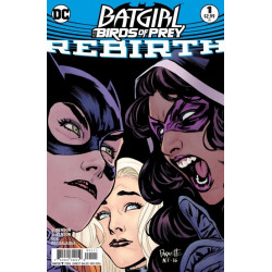 Batgirl and the Birds of Prey: Rebirth Issue 1