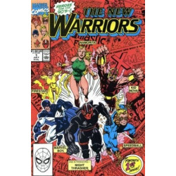 The New Warriors Vol. 1 Issue 01
