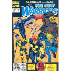 The New Warriors Vol. 1 Issue 22