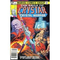 The Saga of Crystar, Crystal Warrior Issue 1