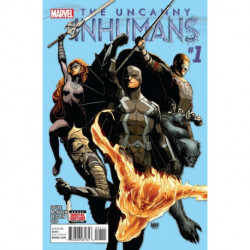 The Uncanny Inhumans  Issue 1