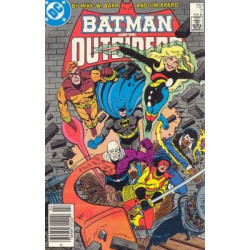 Batman and the Outsiders Vol. 1 Issue 07