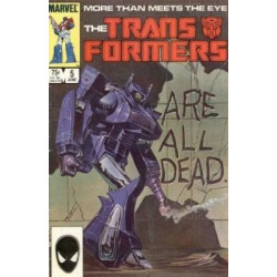 Transformers Vol. 1 Issue 05
