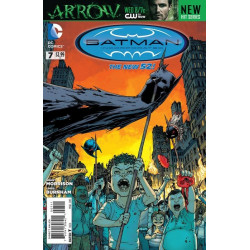 Batman Incorporated Vol. 2 Issue 07