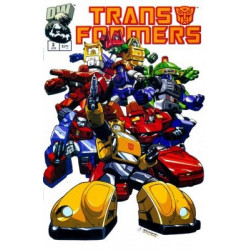 Transformers: Generation One  Issue 3