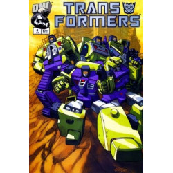 Transformers: Generation One  Issue 4b