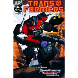 Transformers: Generation One  Issue Preview