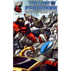 Transformers: More Than Meets the Eye  Issue 1