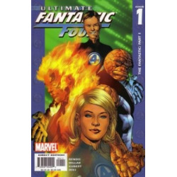 Ultimate Fantastic Four Issue 01