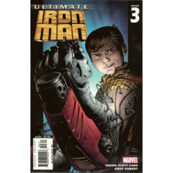 Ultimate Iron Man  Issue 3