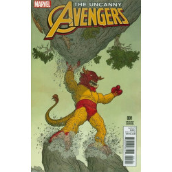 Uncanny Avengers vol. 3 Issue 1f Variant
