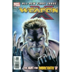 Weapon X  Issue 01