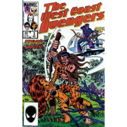 West Coast Avengers Vol. 2 Issue 03