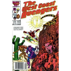 West Coast Avengers Vol. 2 Issue 17
