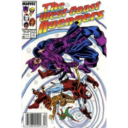 West Coast Avengers Vol. 2 Issue 19